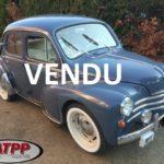 17- RENAULT 4CV 1956 Vitres descendantes